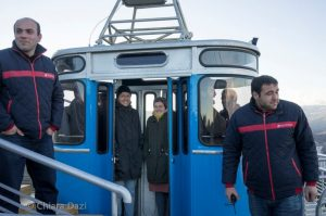 Renewed Cable Cars in Tbilisi – only the design is from 1960-70s, but the cars are constructed recently, or so they say.